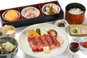 Hida beef set (sirloin steak)