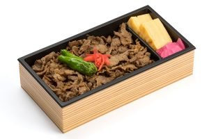 Beef simmered with ginger