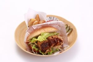 Hida Beef Steak Cutlet Burger