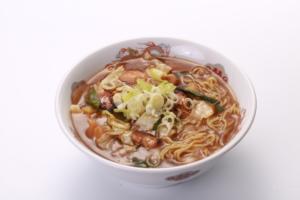 Stir-fried chicken with miso ramen