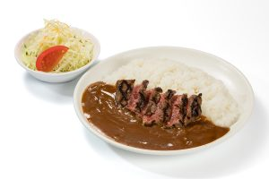 飛騨牛ステーキカレー