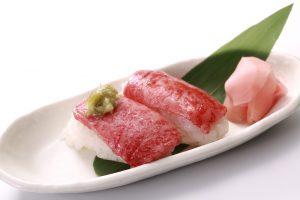 飛騨牛にぎり寿司