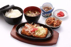 豆腐ステーキ定食