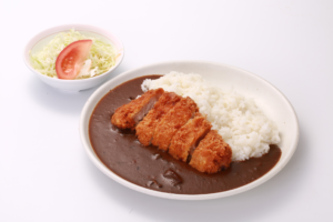 Pork cutlet curry and rice