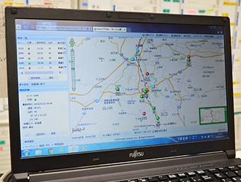 GPSを使用した車両管理システム