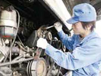 安定した車両の整備管理