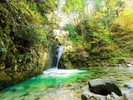 Hida-Osaka Falls Easy hiking with guide ~Regular Course~