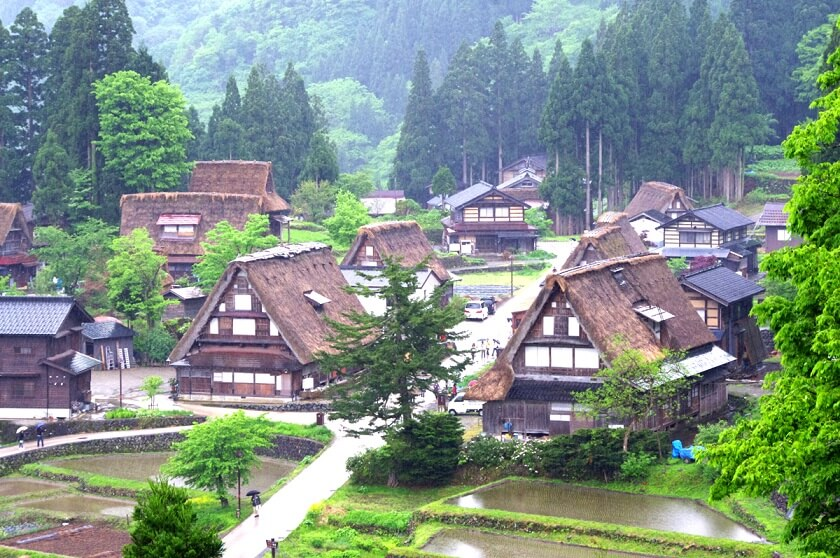 【World Heritage】Shirakawa-go and Ainokura Bus Tour