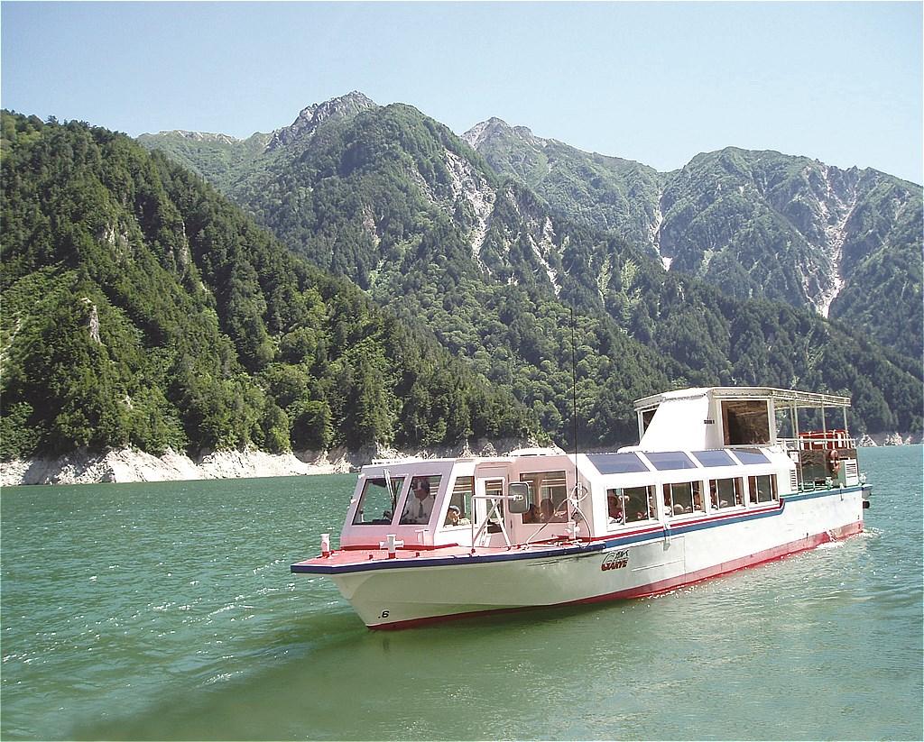 Kurobe Dam & Cruise Ship GARVE