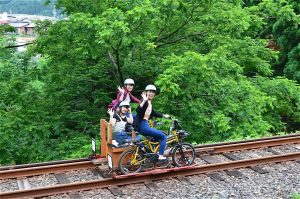 Rail Mountain Bike Gattan Go!! & Enjoy Hirayu Course D