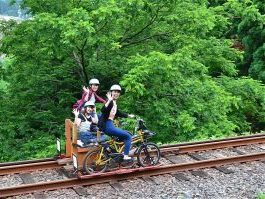Rail Mountain Bike Gattan Go!! & Shinhotaka Ropeway Ride【C】