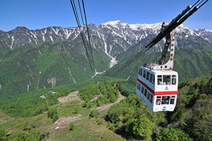 【Web Limited】Shinhotaka Ropeway with Lunch and Spa Ticket