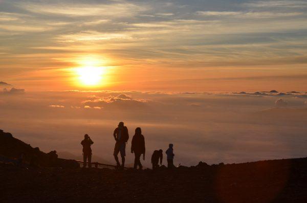 Mount Norikura Sunrise Watching