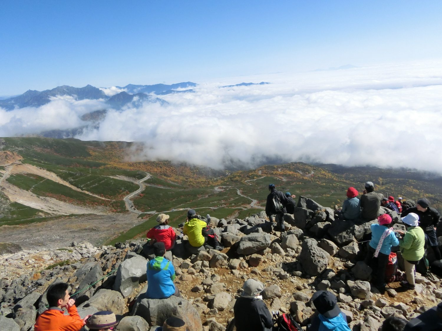 Norikura Kengamine Summit Climbing Tour with English Speaking Guide