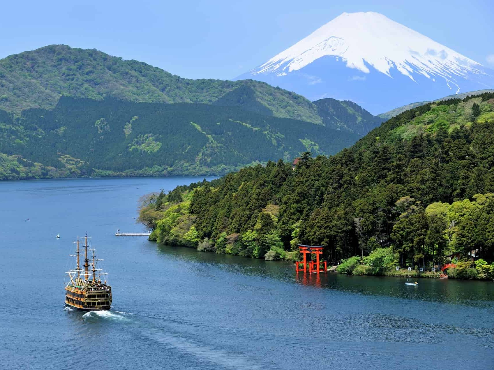 Takayama~Kawaguchiko~Hakone One-way Ticket with Hakone Freepass