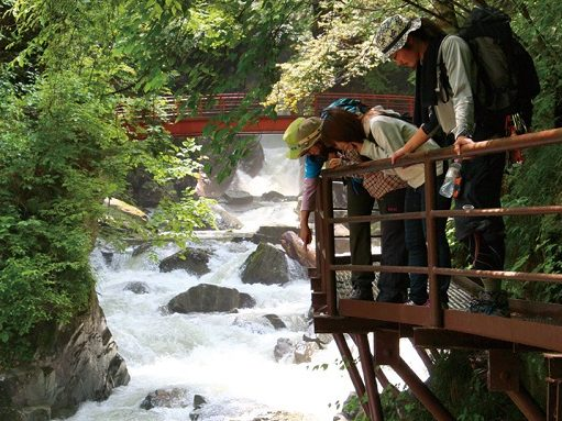 Hida-Osaka Falls Easy hiking with guide ~Short Course~